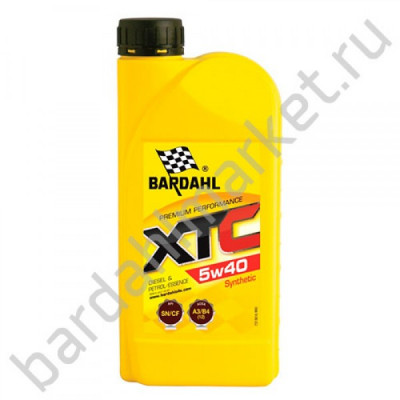 BARDAHL XTC 5W40 1L