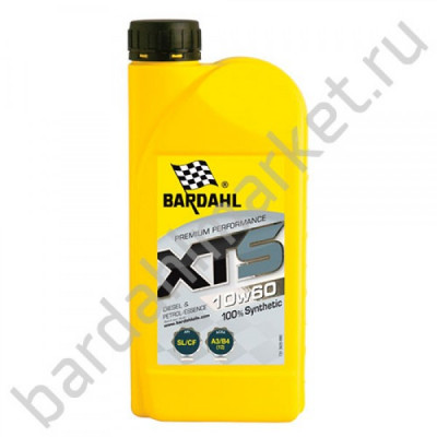 BARDAHL XTS 10W60 SL/CF 1L