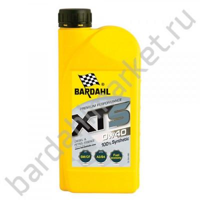 BARDAHL XTS 0W40 A3/B4 1L